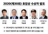 올해 호암상에 '아침이슬' 김민기…총 5개 부문 선정