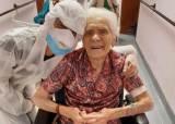 [서소문사진관] 103세 이탈리아 할머니, 코로나19 이겨냈다