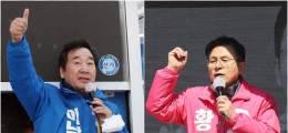 이낙연, 황교안에 28%P 앞서 고민정·오세훈 오차범위 접전