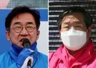 '무주공산' 인천 남동갑, 맹성규 49.9% 유정복 49%[출구조사]