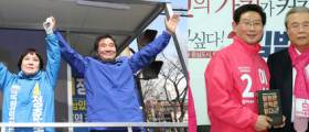 경기 용인병, 정춘숙 vs 이상일 '엎치락 뒤치락' 접전 [격전지 개표상황]