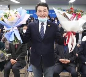'조국의 남자' 김남국, 성비하 논란에도 박순자 꺾고 당선