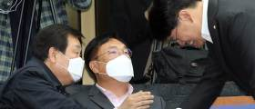 """정진석·장제원 """"미래한국당 역할 다 했다...빨리 합당해야"""""""