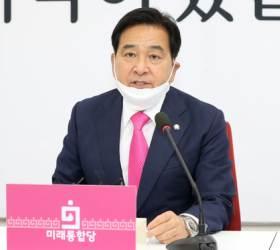 """오거돈 겨눈 <!HS>심재철<!HE> """"민주당, 文이 만든 당헌 빠져나갈 궁리"""""""