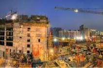 [서소문사진관] 착공 50일 된 평양종합병원, 10층 골조가 우뚝 섰다