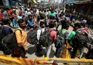 인도 신규확진 3900명···'락다운 완화' 하루만에 코로나 폭발했다