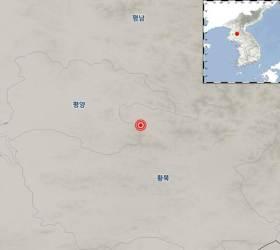 """北 평안남도 성천서 규모 2.2 <!HS>지진<!HE> 발생···""""피해 없을 것"""""""