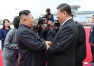 """김정은, 시진핑에 '구두 친서'…""""코로나 전쟁 승기 축하"""""""