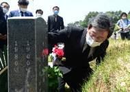"""5.18 참배한 유승민 """"5.18 왜곡에 단호한 조치 못해 아쉽다"""""""