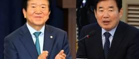 국회의장, 박병석 추대냐 맞대결이냐…김진표 입에 <!HS>시선집중<!HE>