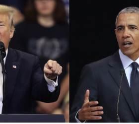 """트럼프 """"초대 안해"""" , <!HS>오바마<!HE> """"관심 없다""""…백악관 40년 전통마저 끊겼다"""
