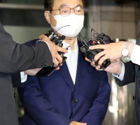 오거돈 사퇴 29일만에 '여직원 <!HS>성추행<!HE>' 피의자 신분 14시간 조사받아