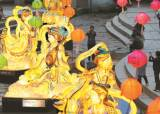 [한 컷] 청계천 전통등 전시회