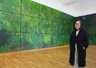 제주 초록정원·바다, 팬데믹 시대 치유가 된 그림