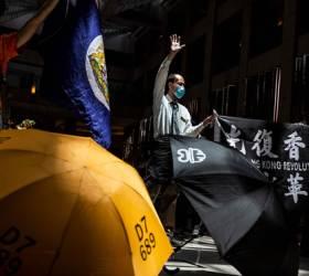 """美 <!HS>홍콩<!HE> 보안법 비난에···中대변인 """"숨 쉴 수 없네"""" <!HS>시위<!HE> 조롱"""