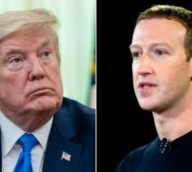 트럼프-저커버그 전격 통화...<!HS>페이스북<!HE>, 트위터와 다른 길 가나?