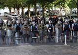워싱턴 외곽 군인 1600명 몰려···트럼프 폭동진압법 일촉즉발