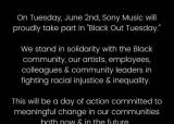 국내 연예인 인스타그램도 '블랙아웃' … 美 '블랙아웃튜스데이' 운동 동참