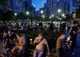 <!HS>홍콩<!HE> '천안문 사태' 추모집회…의회선 '국가법' 반대 오물투척