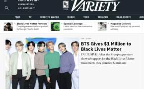 """""""인종차별 반대"""" BTS, 'Blacklivesmatter'에 12억원 기부"""