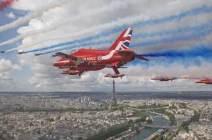 [서소문사진관] 런던·파리서 英·佛 공군 합동비행...드골의 나치 결사항전 연설 80주년 축하