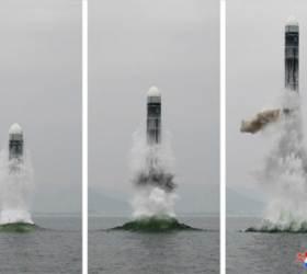"""주러 北대사관 """"한반도 전쟁시, 미국은 <!HS>핵무기<!HE>로 소멸될 것"""""""