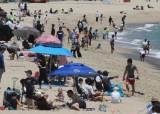 7월 피서철 앞두고 거리두기 시험대 오른 해운대 해수욕장