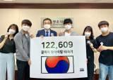 광운대 유지상 총장, '끝까지 찾아야 할 태극기 122609' 캠페인에 동참한다!