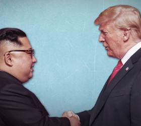 """비건은 성사 힘들다는데…文대통령 """"미 대선 전 <!HS>북미<!HE><!HS>대화<!HE>를"""""""