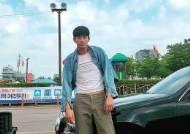 김수현, 청재킷으로 코믹 매력 발산···문강태의 빙구美