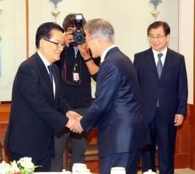 20년전 北에서 즉석 노래한 박지원···<!HS>김정일<!HE>은 앵콜 외쳤다