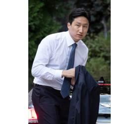 """현대중 정기선 부사장 신부 <!HS>웨딩<!HE>드레스에…네티즌 """"어디서 본듯?"""""""
