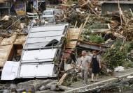 [사진] 일본 기록적 폭우 … 장마전선 제주 북상
