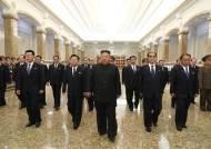 [보고] 김정은, 비건 보란듯…김일성 26주기 금수산궁전 참배