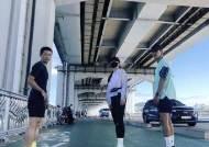 """이시영, 이영표X션과 함께한 주말 일상 """"한강 달리기 10km"""""""