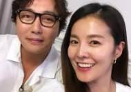 """김성은, 탁재훈과 훈훈 셀카 """"세상에서 제일 웃긴 탁사마"""""""