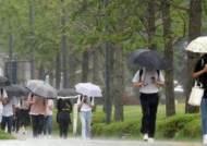 """""""출근길 우산 챙기세요"""" 전국에 비, 서해안 여객선 통제"""