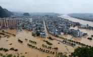 물에 잠긴 중국 '역대급 피해'···폭우로 경제손실 14조 넘었다