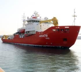 [<!HS>미리보는<!HE> <!HS>오늘<!HE>]60일간의 북극 항해…쇄빙연구선 아라온호 출항