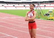 '육상 유망주' 양예빈, 부상 딛고 KBS배 전국육상경기 고등부 우승
