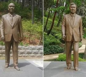 덜컥 발표한 '전두환·<!HS>노태우<!HE> 동상 철거'…찬반 싸움 붙자 뒤늦게 여론수렴