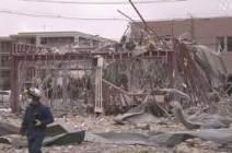 [서소문사진관]'형체 사라진 건물', 日 후쿠시마 가스폭발로 18명 사상
