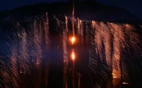 하회마을 류성룡도 즐겼다, 조선 양반의 불꽃놀이 '선유줄불놀이'