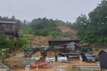 한순간 토사 덮쳤다…평택공장 3명, 가평펜션 3명 사망