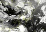 태풍 하구핏, 中가도 韓장마 덩치 키운다…5일까지 물폭탄