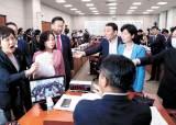 법사위 열기 전 '처리 표기'…통합당, '임대차법' 백혜련 등 고발