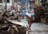 폭우 덮친 그곳, 확진 5배 급증…日이재민들 대피소 꺼린다
