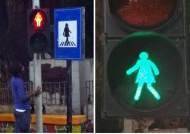 성차별 심각 인도 '청신호'···뭄바이 신호등에 '여성' 들어갔다