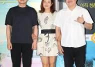 [포토]신재훈-박선영-신민재, '서퍼 인사로~'