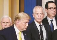 트럼프 앞 므누신·나바로 설전…얽히고설킨 백악관 틱톡 전쟁